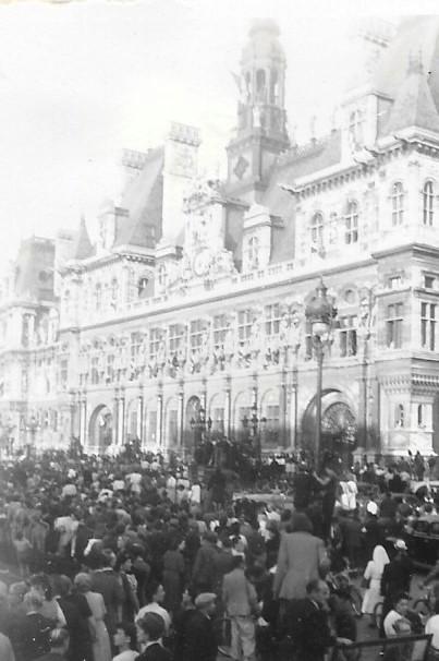 Quelques photos amateur de la libération de Paris Photos31