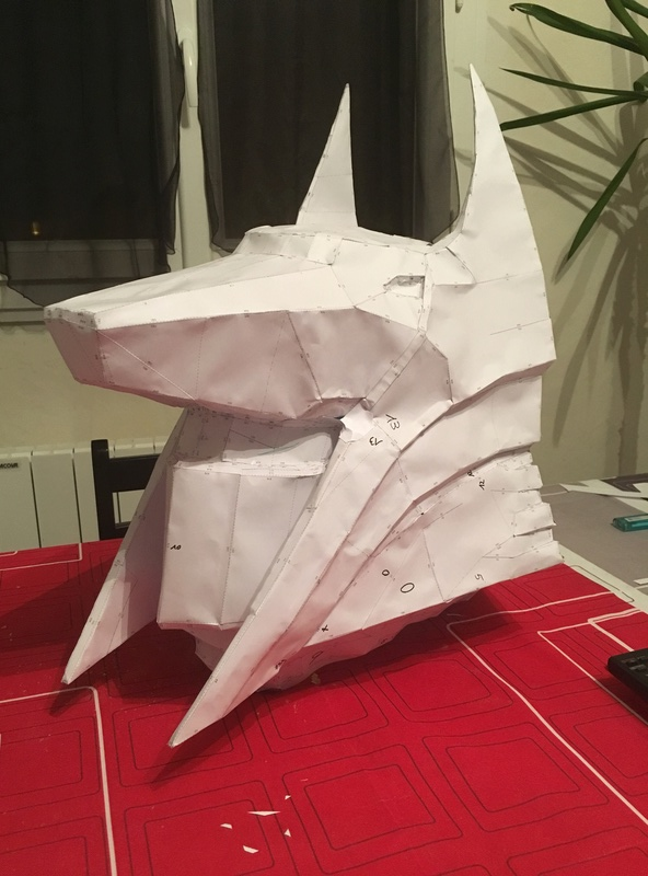 Tuto casque arcaniste papercraft masque du chacal aveugle Img_4713