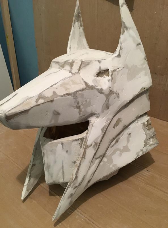 Tuto casque arcaniste papercraft masque du chacal aveugle Img_4913