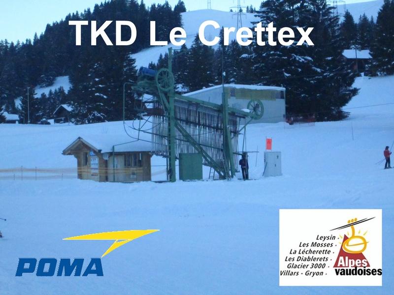 """Téléski débrayable """"Le Crettex"""" Les Mosses (Alpes Vaudoises) Title10"""