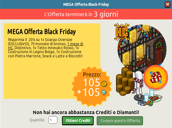 [ALL] È arrivata la MEGA Offerta Black Friday -hlfo31
