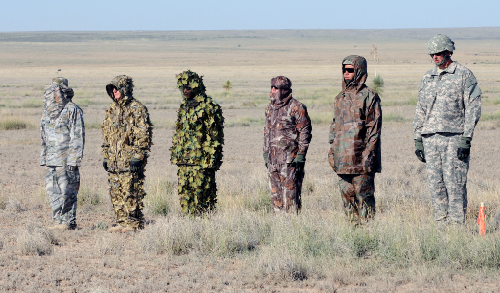 Hunting Camouflages used by Soldiers _talon10