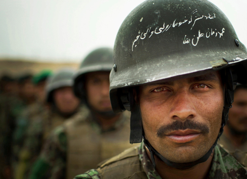 List of all Helmet Types Used by Afghan Forces Afghan10