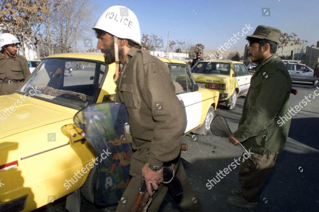 Soviet Helmet used by Afghan police Afghan15