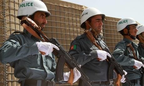 Soviet Helmet used by Afghan police Afghan22