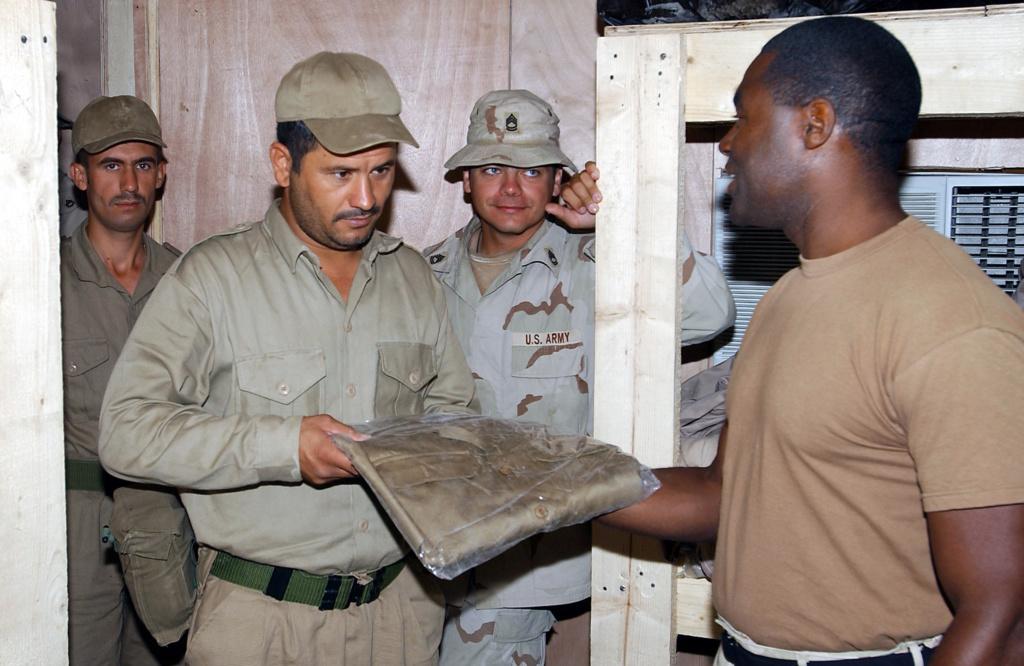 Tan Iraqi Uniform Top Df-sd-45