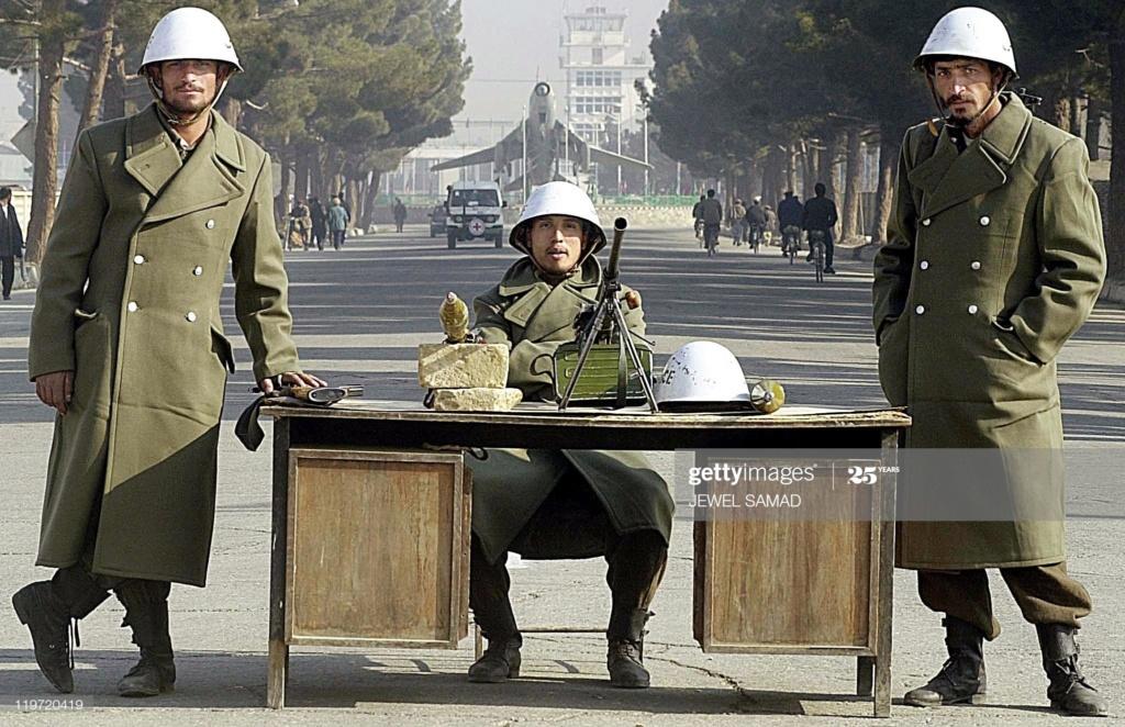 Soviet Helmet used by Afghan police Gettyi16