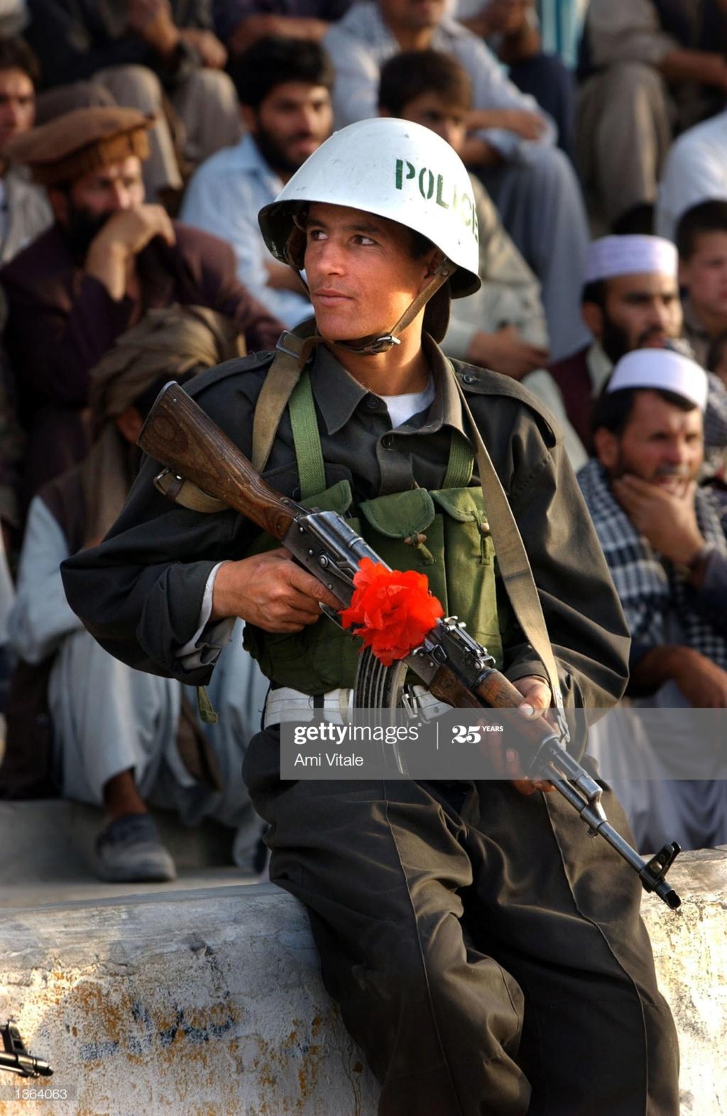Soviet Helmet used by Afghan police Gettyi21
