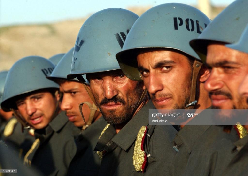 Soviet Helmet used by Afghan police Gettyi23
