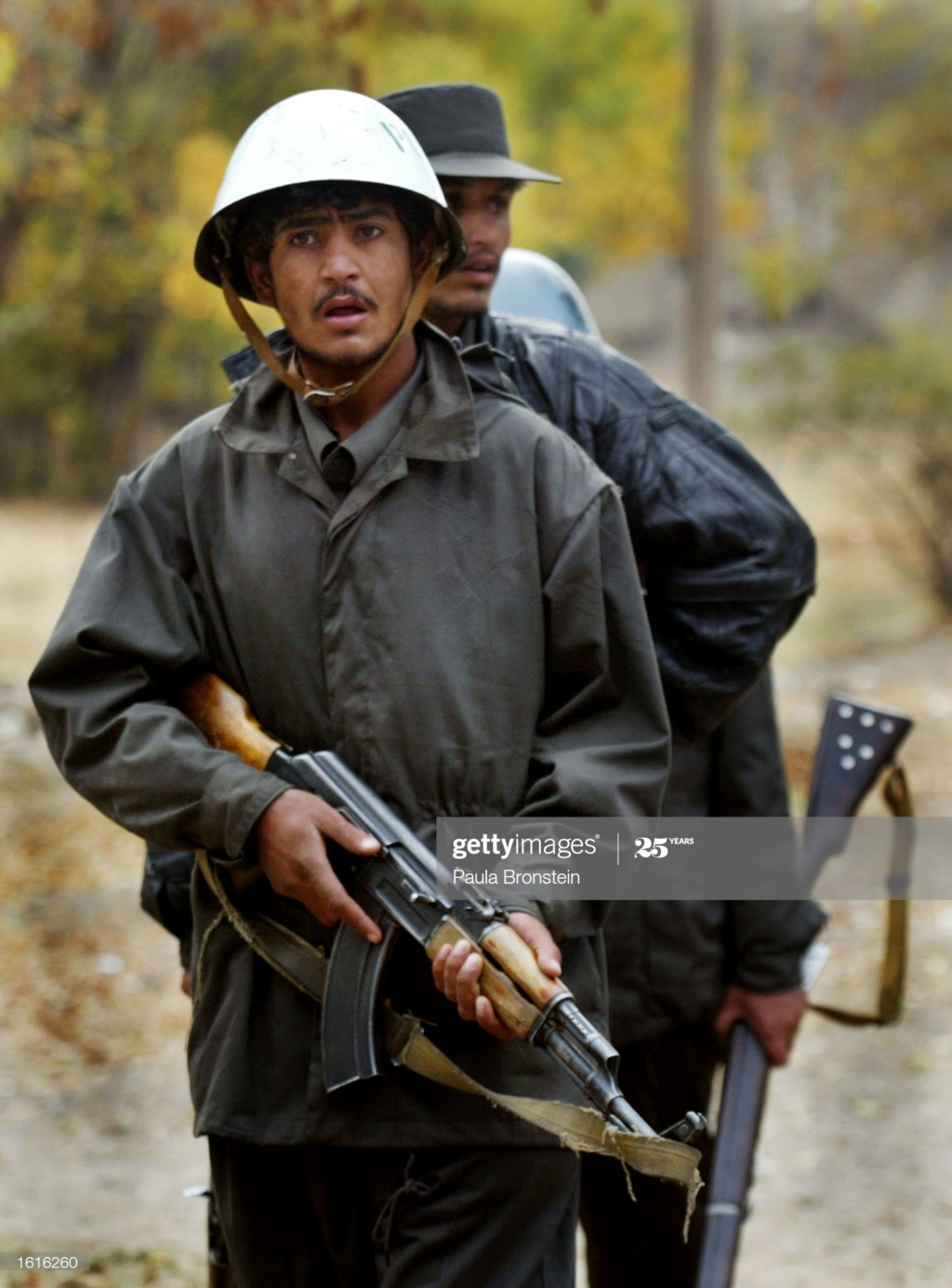 Soviet Helmet used by Afghan police Gettyi25