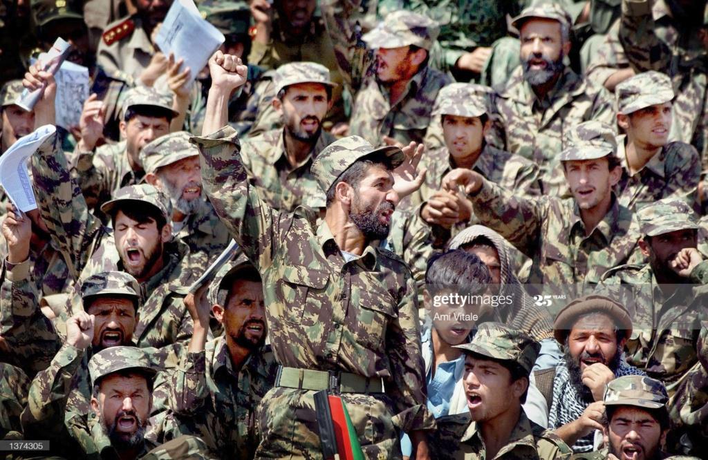 Afghan Northern Alliance Lizard Set Gettyi31