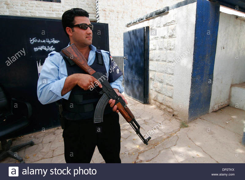 Two Iraqi Police Armbands/Brassards Jun-1110