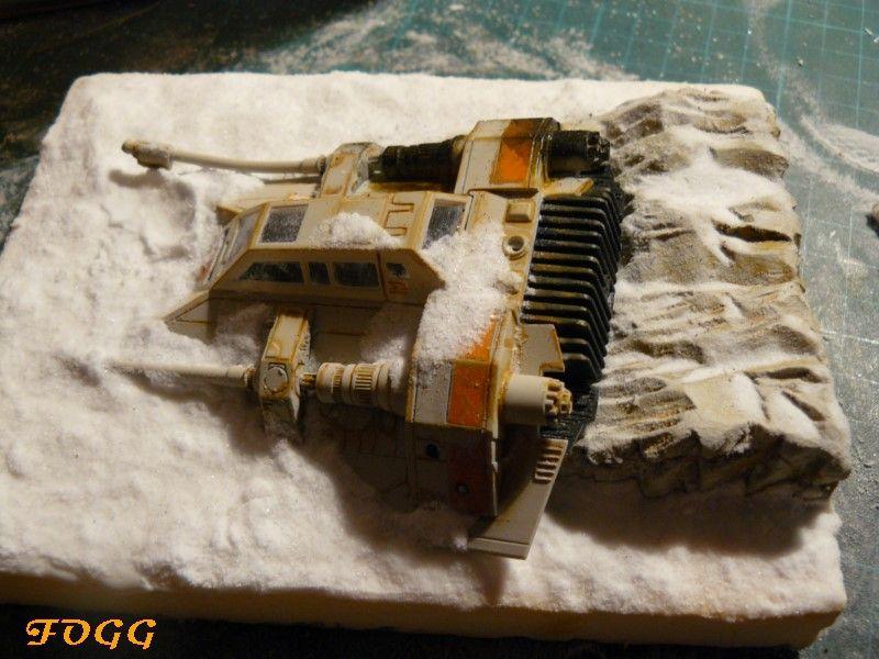 StarWars, snowspeeder crashé sur la planète Hot P1180610