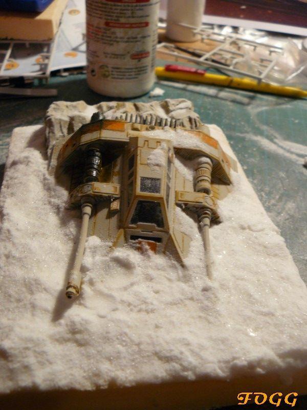 StarWars, snowspeeder crashé sur la planète Hot P1180611