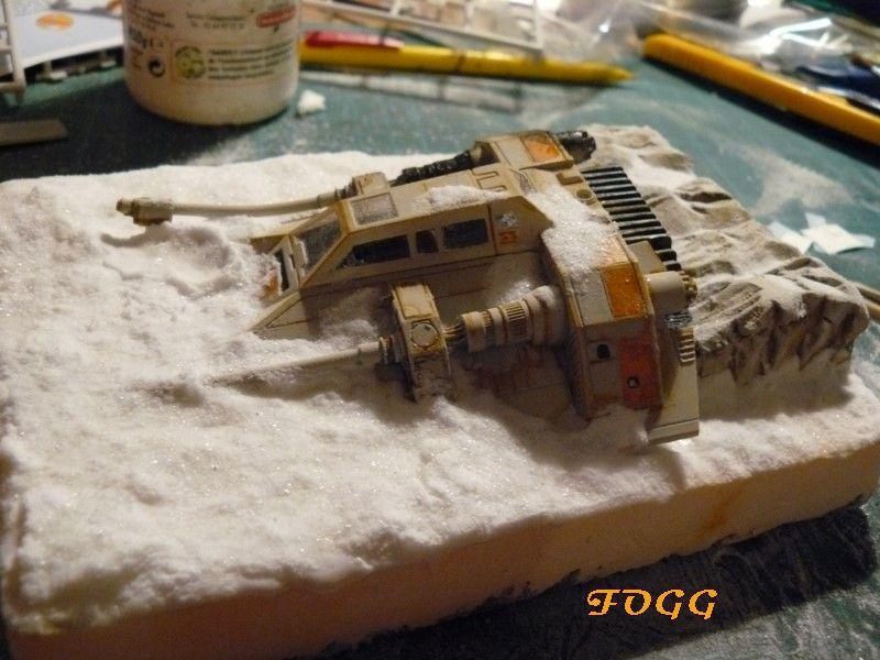 StarWars, snowspeeder crashé sur la planète Hot P1180612