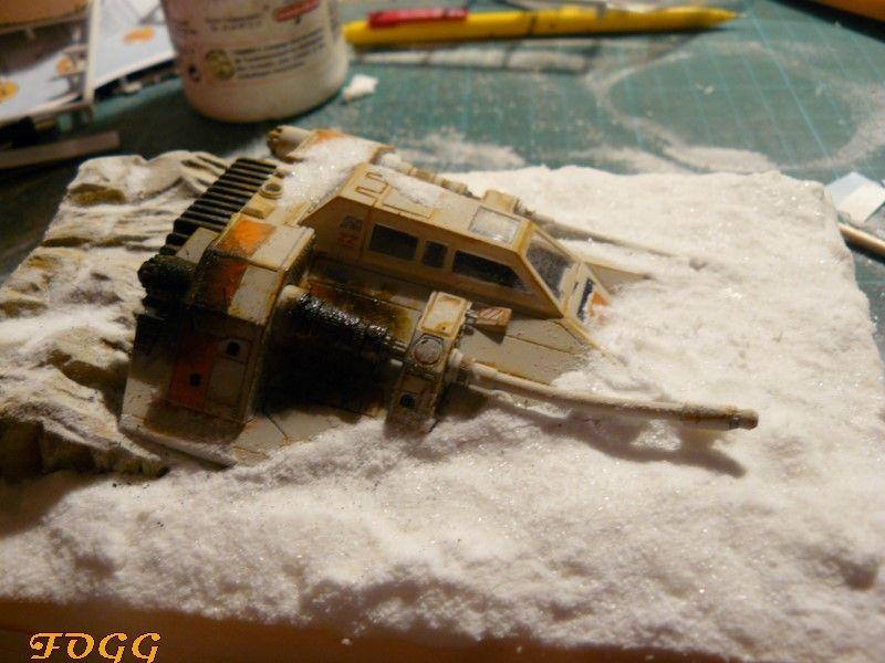 StarWars, snowspeeder crashé sur la planète Hot P1180613