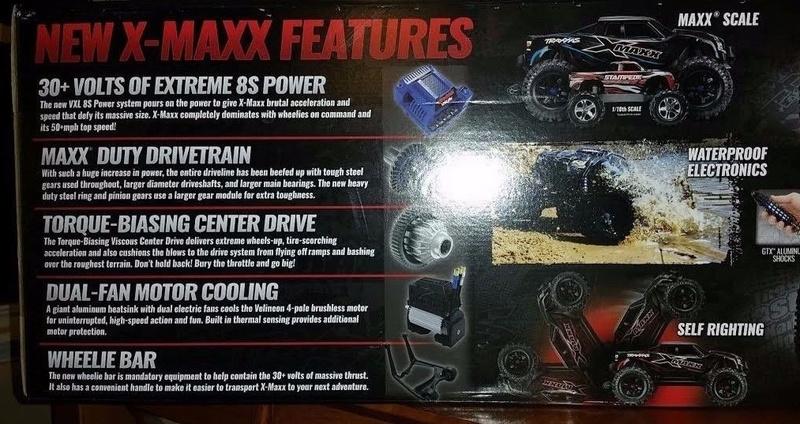 [NEW] Options 8s pour X-Maxx par Traxxas Mod - Page 3 Snap410