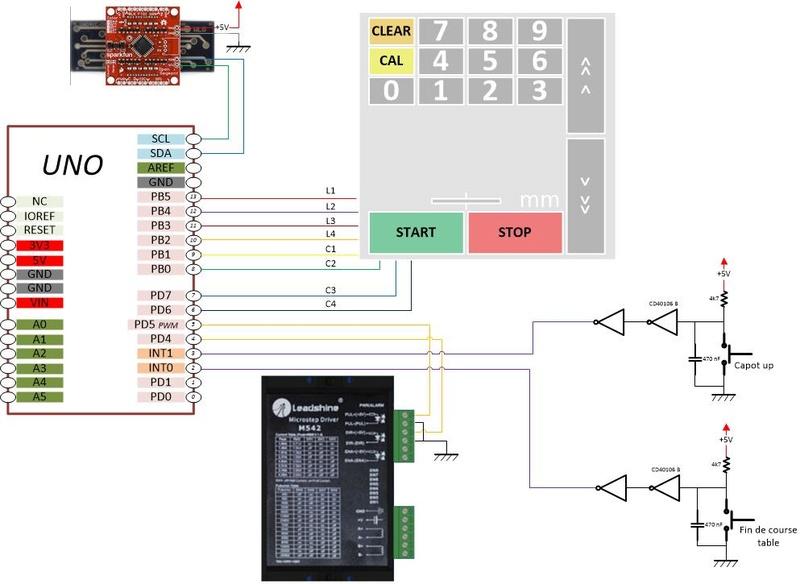 Motorisation de la table d'une R/B Hammer A3 31 - Page 2 Schema10