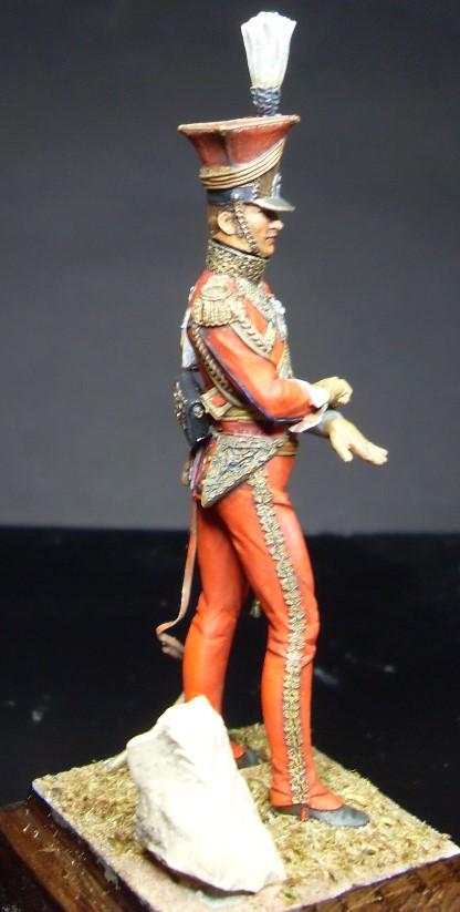 Les Lanciers de la Garde - Général Edouard de Colbert - figurine Atelier Maket - 75 mm - peinture à  Sdc11010