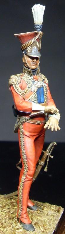 Les Lanciers de la Garde - Général Edouard de Colbert - figurine Atelier Maket - 75 mm - peinture à  Sdc11012