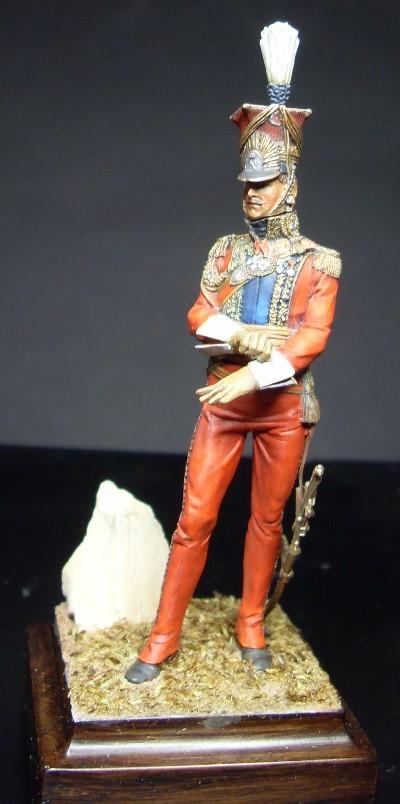 Les Lanciers de la Garde - Général Edouard de Colbert - figurine Atelier Maket - 75 mm - peinture à  Sdc11013