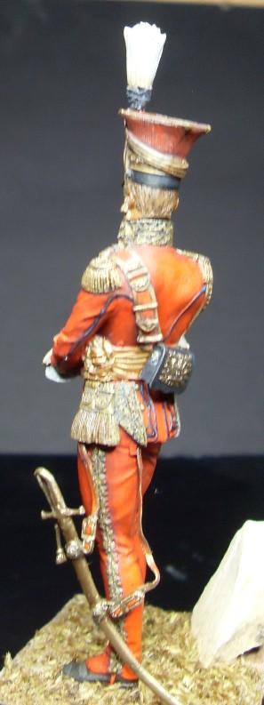Les Lanciers de la Garde - Général Edouard de Colbert - figurine Atelier Maket - 75 mm - peinture à  Sdc11014