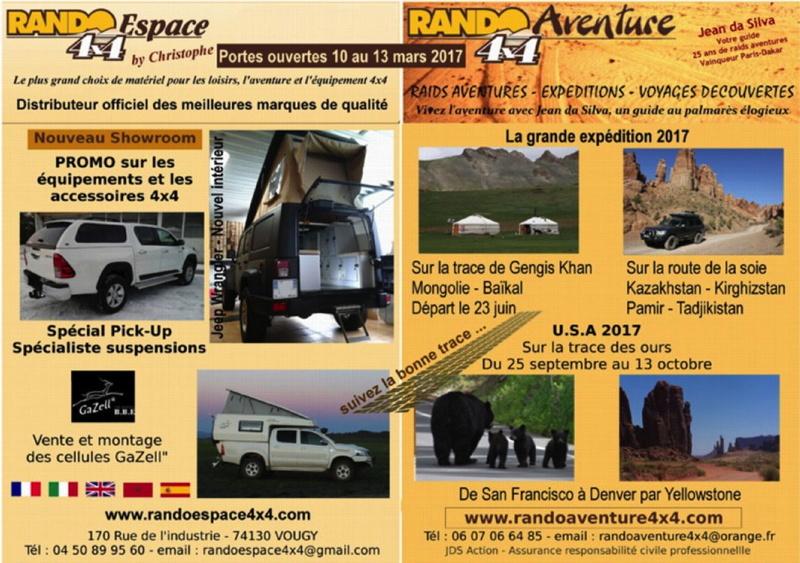 Portes ouvertes Rando Espace (Rando Aventure) 11 au 13 mars 2017  Po201710