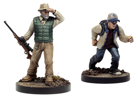 The Walking Dead All Out War Miniatures B55ab110