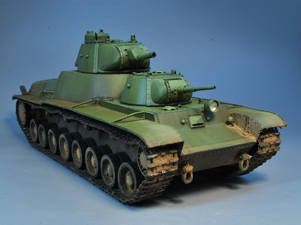 Т-100 Сталинский бронемонстр - Страница 3 Dsc_0026
