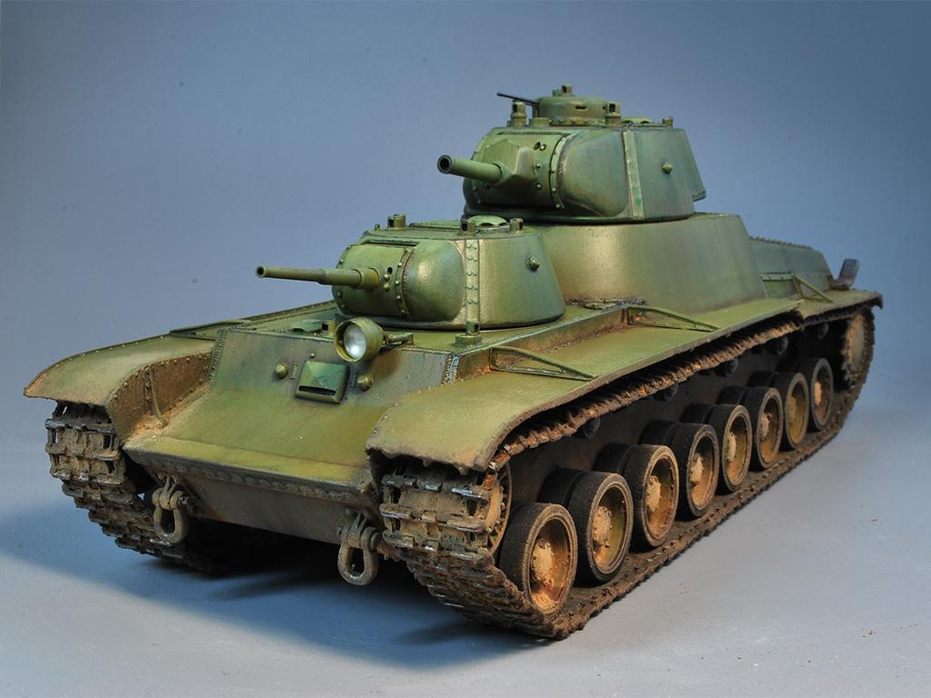 Т-100 Сталинский бронемонстр - Страница 3 Dsc_0027