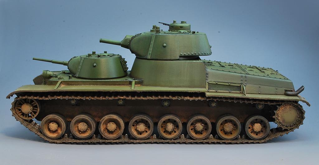 Т-100 Сталинский бронемонстр - Страница 3 Dsc_0028