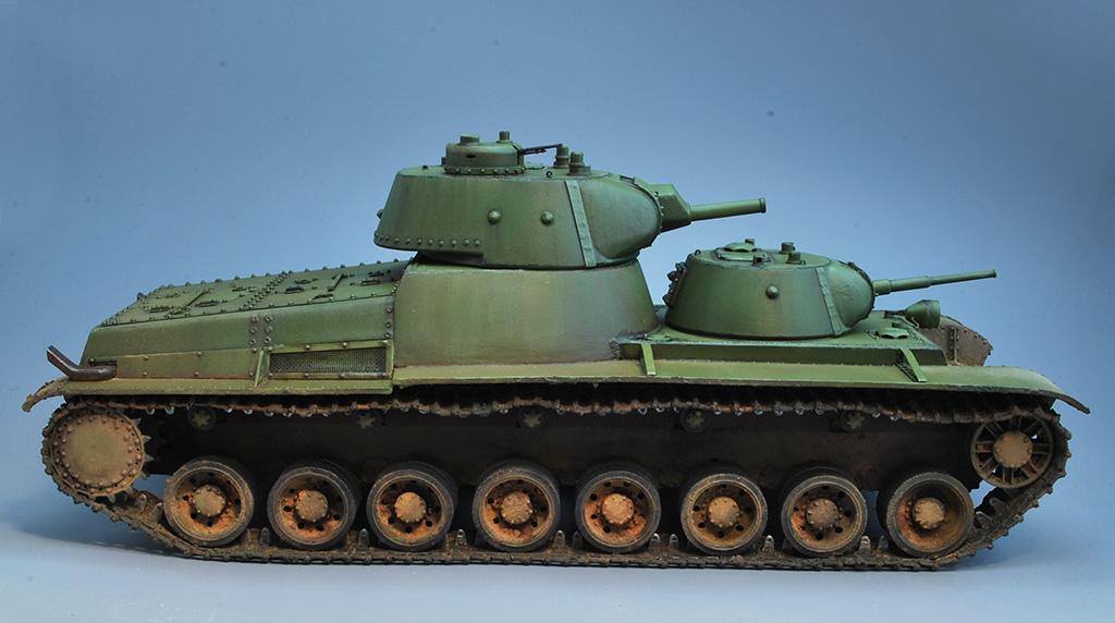 Т-100 Сталинский бронемонстр - Страница 3 Dsc_0029