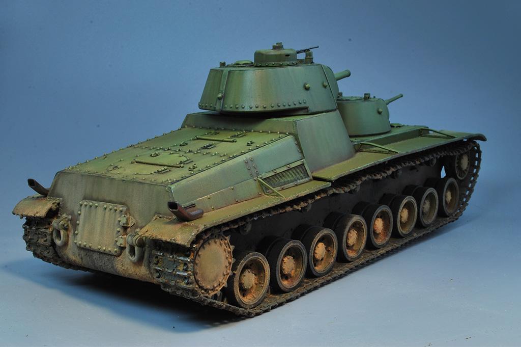 Т-100 Сталинский бронемонстр - Страница 3 Dsc_0030