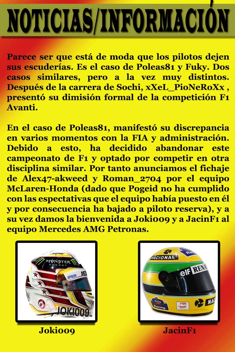 MAGAZINE F1 AVANTI. NÚMERO 6 (30/11/2016) 02_not11