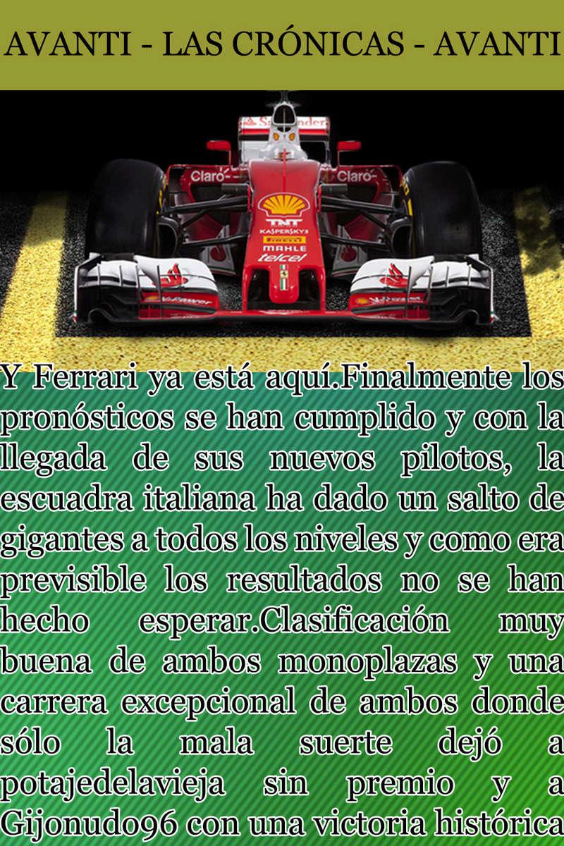 MAGAZINE F1 AVANTI. NÚMERO 7 (20/12/2016) 08_fer10