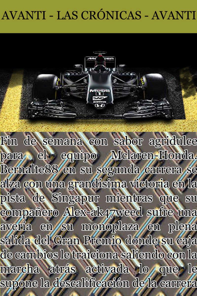 MAGAZINE F1 AVANTI. NÚMERO 8 (27/12/2016) 10_mcl10