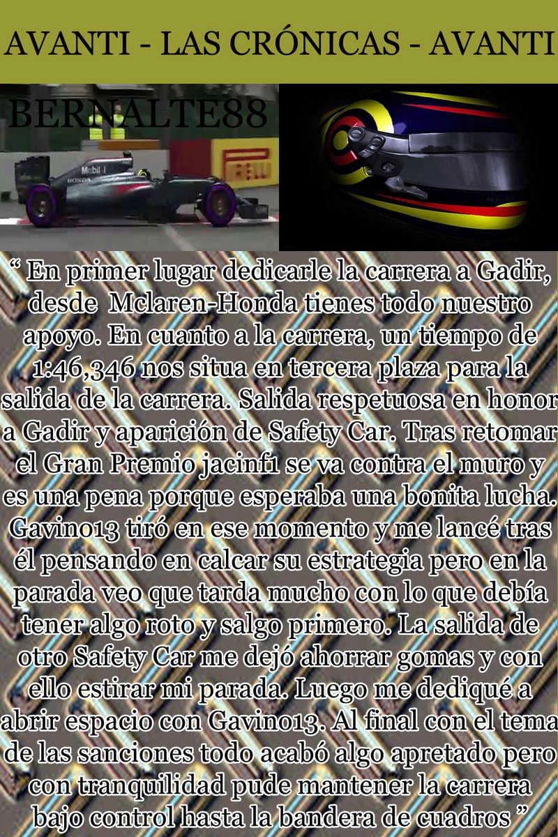 MAGAZINE F1 AVANTI. NÚMERO 8 (27/12/2016) 11_ber10