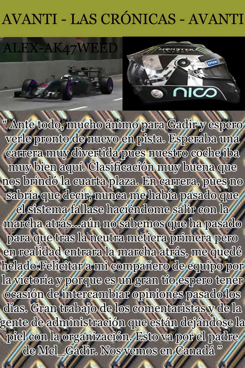 MAGAZINE F1 AVANTI. NÚMERO 8 (27/12/2016) 12_ale10