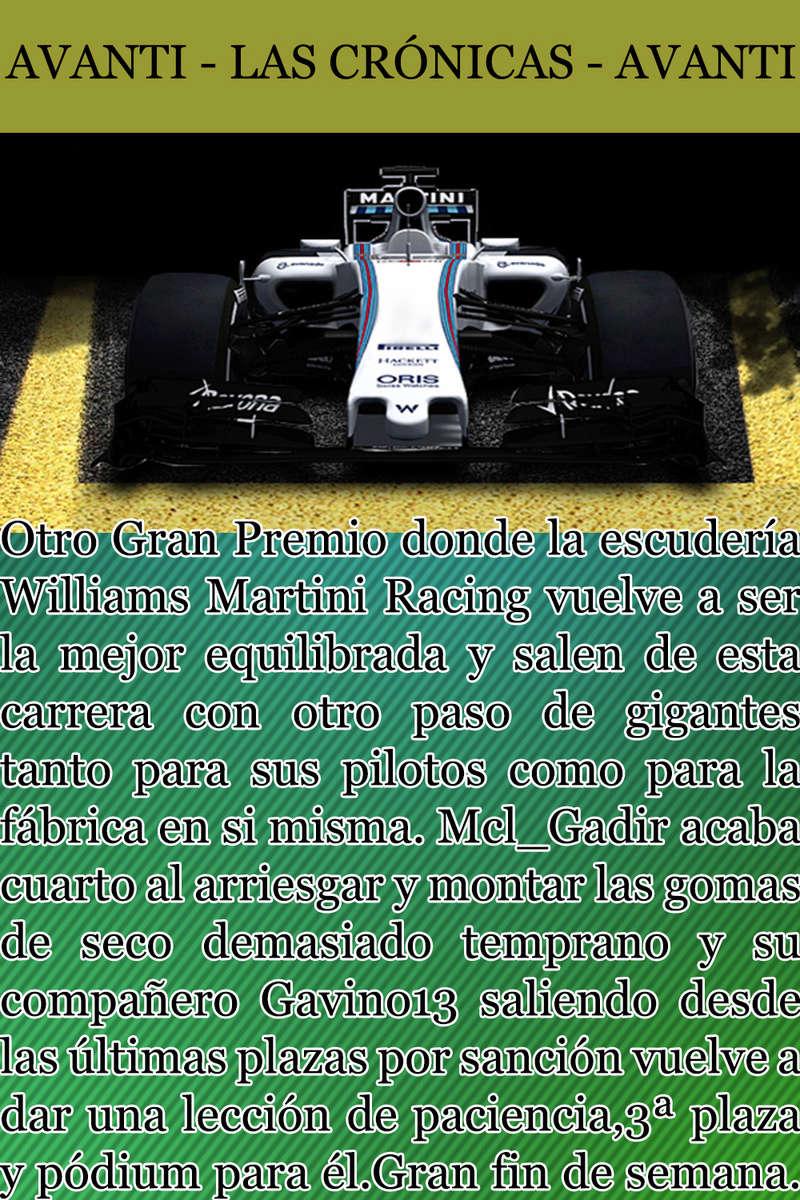 MAGAZINE F1 AVANTI. NÚMERO 7 (20/12/2016) 14_wil10