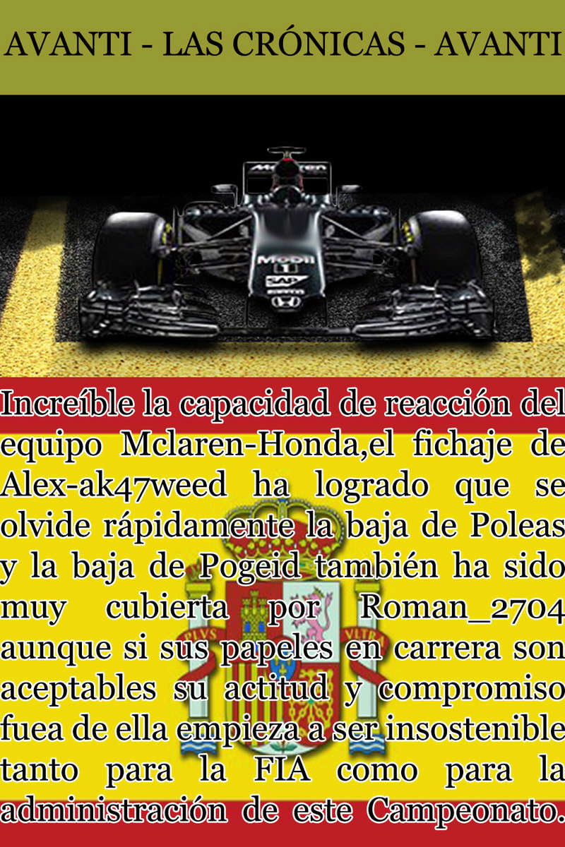 MAGAZINE F1 AVANTI. NÚMERO 6 (30/11/2016) 15_mcl10