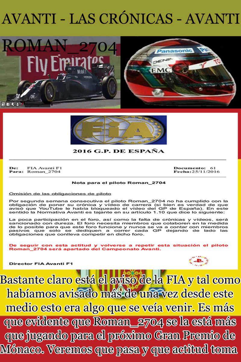 MAGAZINE F1 AVANTI. NÚMERO 6 (30/11/2016) 16_rom10
