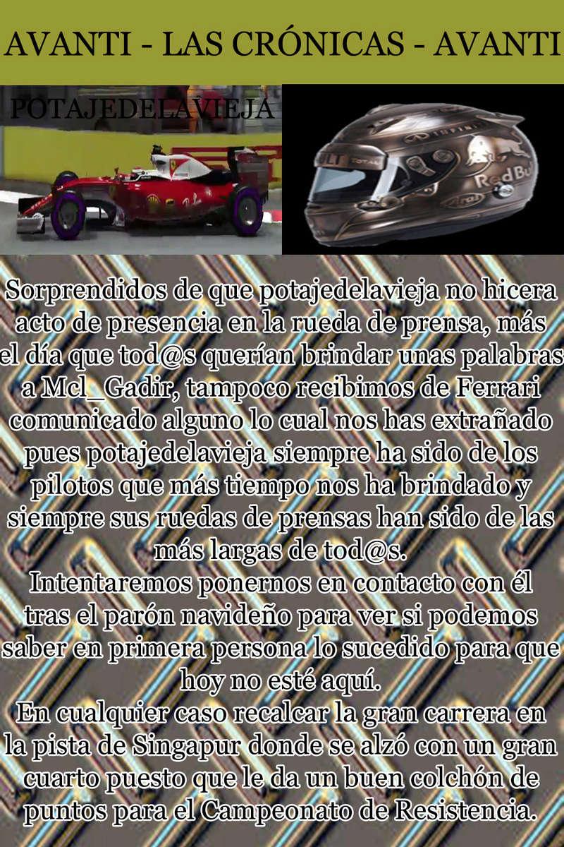 MAGAZINE F1 AVANTI. NÚMERO 8 (27/12/2016) 20_pot10