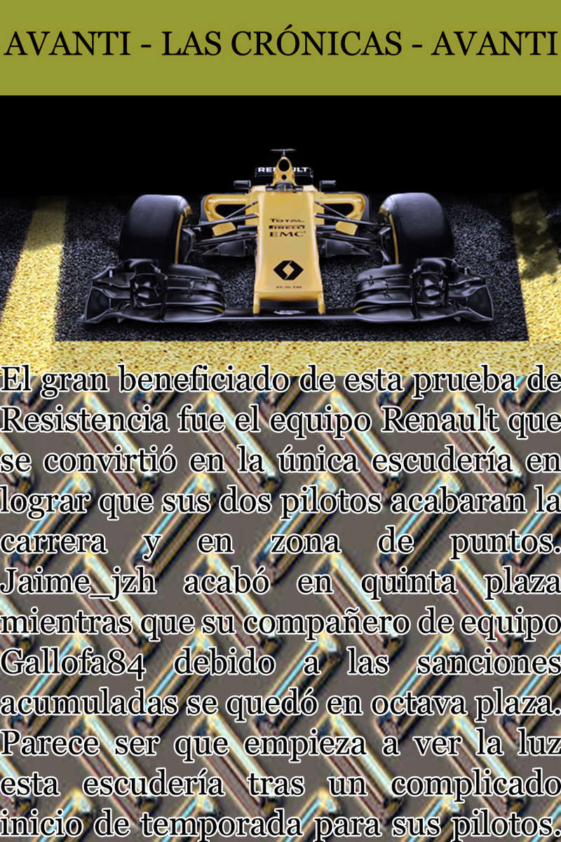 MAGAZINE F1 AVANTI. NÚMERO 8 (27/12/2016) 22_ren11