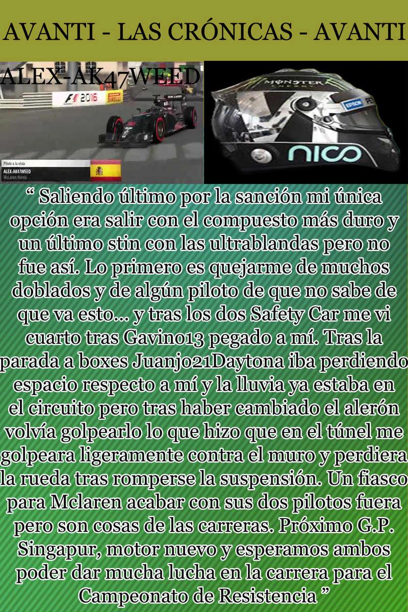 MAGAZINE F1 AVANTI. NÚMERO 7 (20/12/2016) 24_ale10