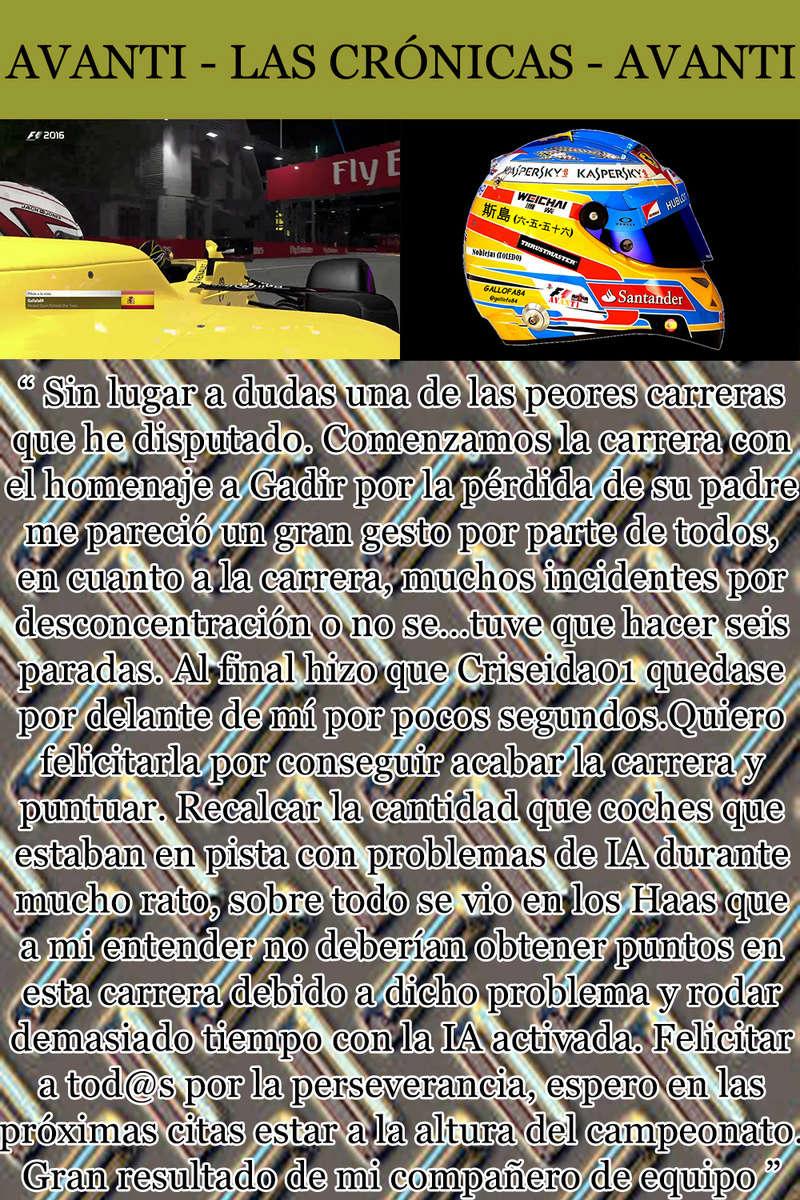 MAGAZINE F1 AVANTI. NÚMERO 8 (27/12/2016) 24_gal11