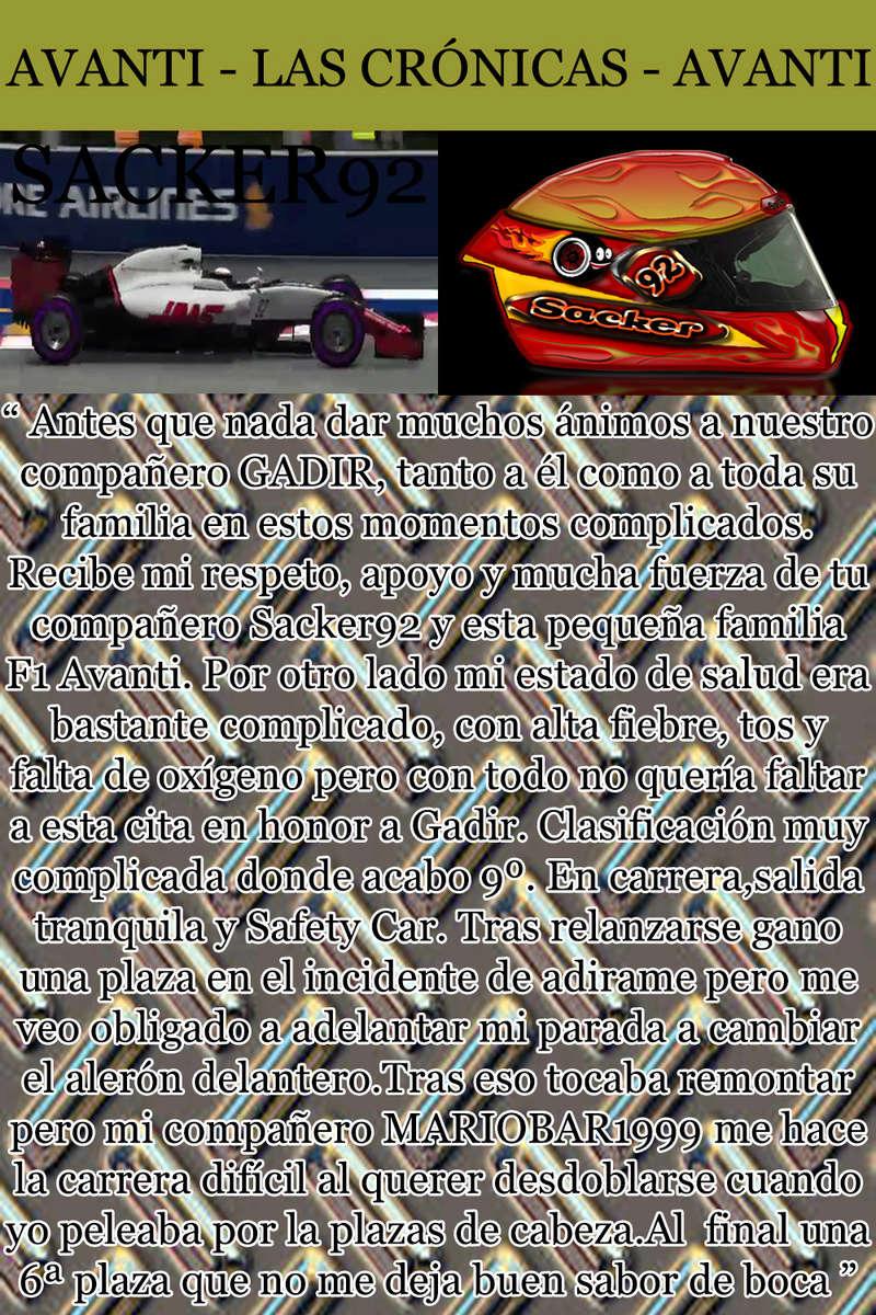 MAGAZINE F1 AVANTI. NÚMERO 8 (27/12/2016) 26_sac10