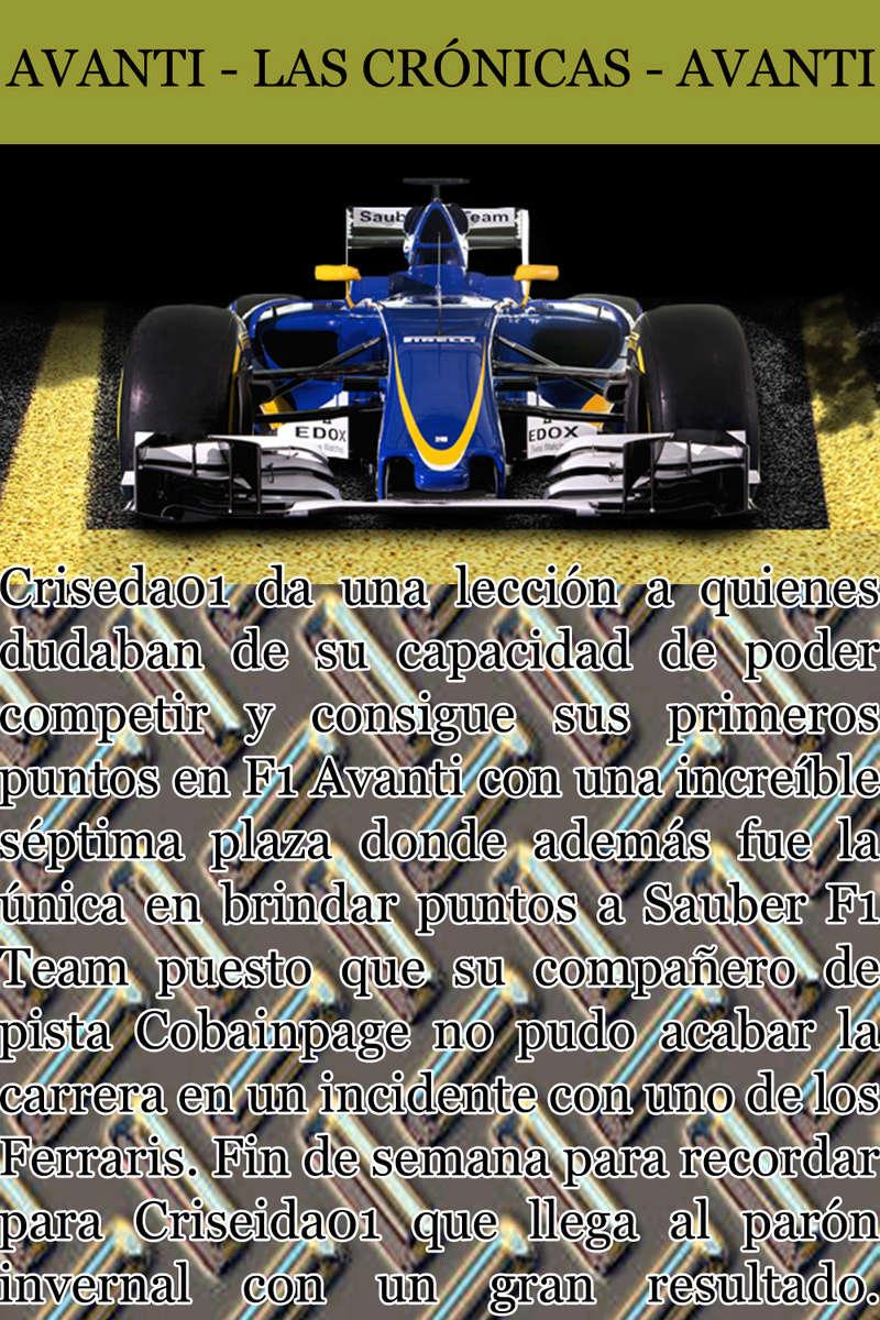 MAGAZINE F1 AVANTI. NÚMERO 8 (27/12/2016) 28_sau10