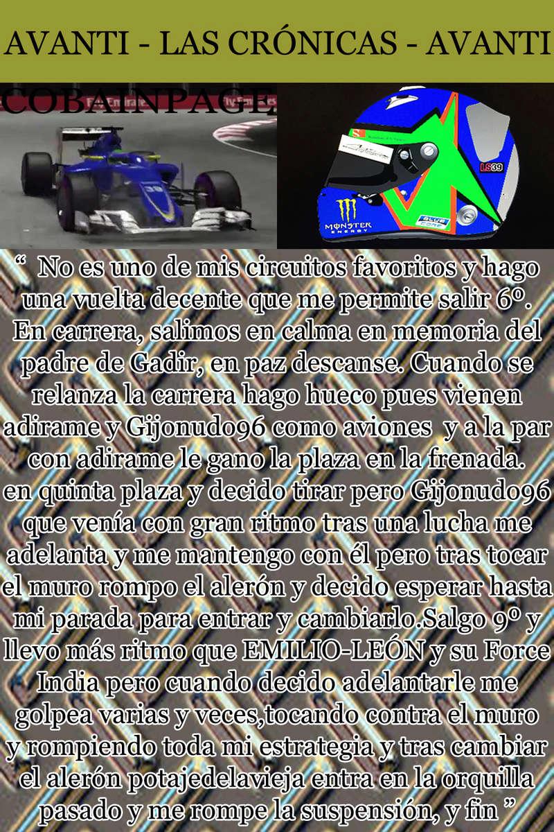 MAGAZINE F1 AVANTI. NÚMERO 8 (27/12/2016) 30_cob10
