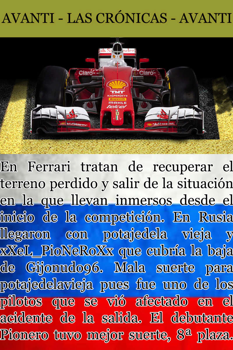 MAGAZINE F1 AVANTI. NÚMERO 5 (20/11/2016) 31_fer10