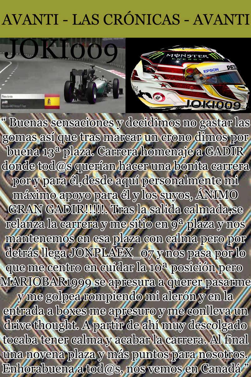 MAGAZINE F1 AVANTI. NÚMERO 8 (27/12/2016) 32_jok10